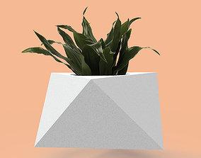 3D printable model Mold for concrete planter pot