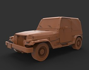 Wrangler 3D print model