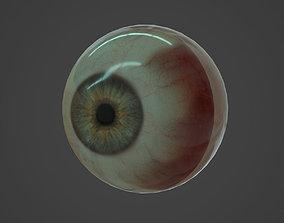Human eye 3D asset