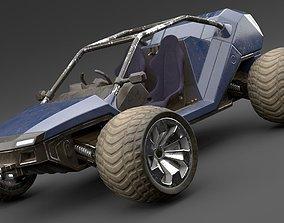 Sci Fi Buggy 3D model