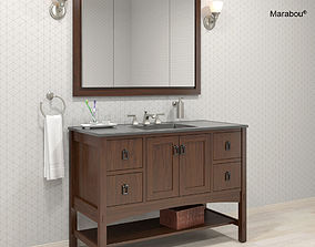 3D model Vanity Marabou by KOHLER
