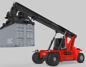 3D model Container Handler for Port Kalmar