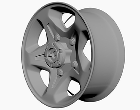 Rim Stock Toyota Land Cruiser FJ70 Series 3D model