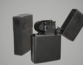 Zippo Lighter 3D model realtime