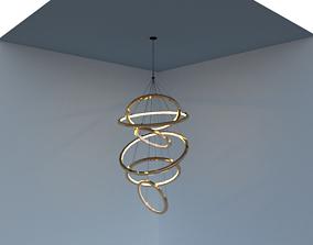 lampara colgante 3D