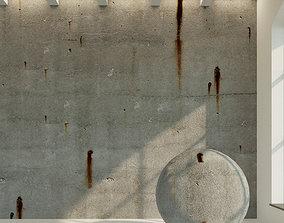 3D asset Concrete wall Old concrete 27