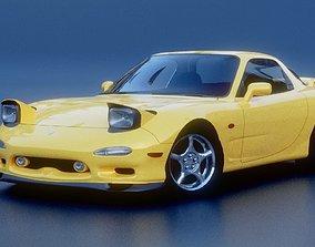 3D asset Mazda RX7 FD3S