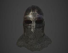 3D Scandinavian Helmet