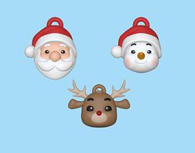 Christmas Ornaments kit 3D printable model