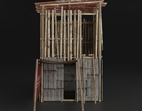 3D model SLUM HOUSE PBR REALISTIC SMALL