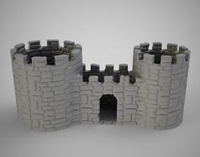 Castle Pencil Holder 3D print model