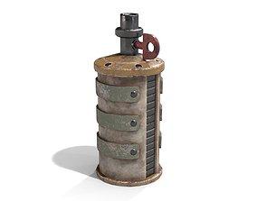 3D model Homemade Grenade
