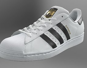 3D asset various Adidas Superstar
