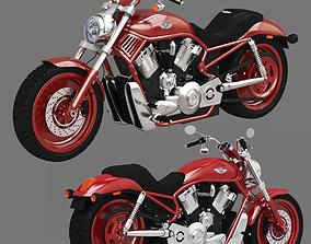 3D model Harley Davidson V-Rod