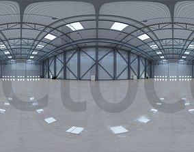 3D HDRI - Airplane Hangar Interior 3 storage