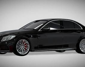 realtime Mercedes-Benz AMG C63 S 3D model