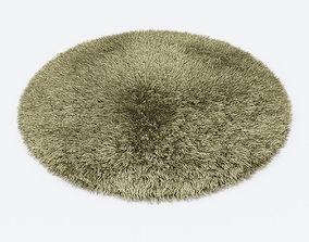 3D model Carpet Snow H265-beige round