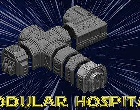 Modular Hospital 3D print model