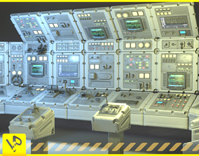 3D asset realtime Switchboard pack pro