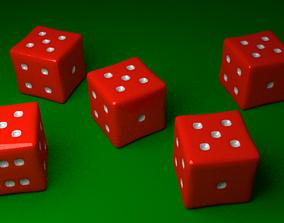 3D model Red Yahtzee