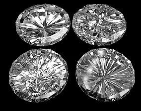 3D model low-poly Diamonds