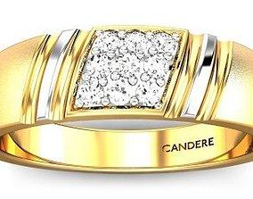 printable diamond-ring 3D printable model diamond ring