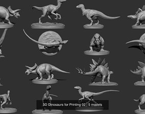 3D Dinosaurs for Printing 02