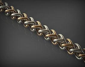 Chain Link 105 bracelet 3D printable model