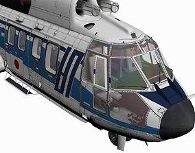 3D model AS332 MkII Super Puma