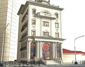 office-building apartment-building Office Building 3D model