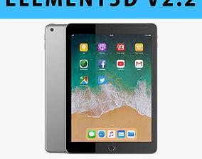 E3D - Apple iPad 9 7 2018 Space Gray 3D ar