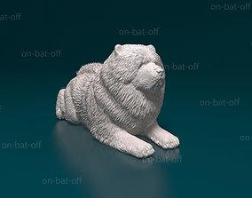 Chow-chow dog miniatures 3D printable model