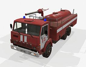 fire truck AP-5 3D asset