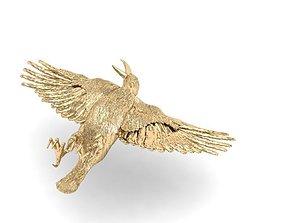 beautiful crow 3D print model