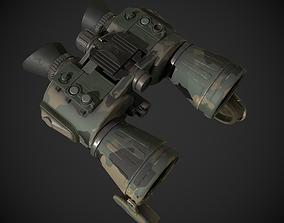 Military Binoculars 3D model