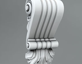 Decorative Corbels 3D model