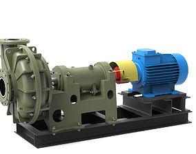 3D Pump centrifugal Gr