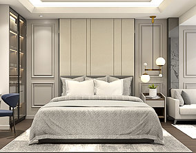 Design Master Bedroom Classic Modern 3D asset