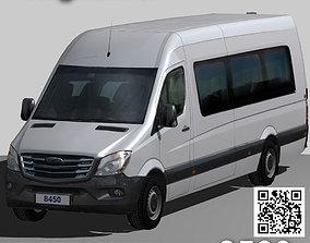 3D asset Freightliner Sprinter minibus 3500