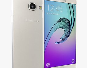 Samsung Galaxy A3 2016 White 3D model