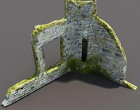 3D model English Castle Ruin