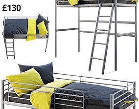 Ikea Svarta Loft bed 3D model