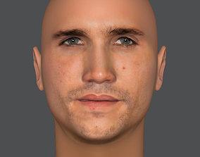 Denver Face from Money Heist 3D