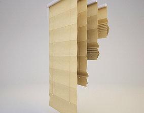 Roman blinds 2 3D model