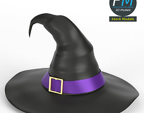 3D PBR Witch hat