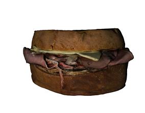 3D asset food sanduiches