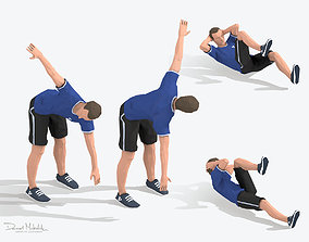 Exercise Animations Small Pack 3D asset