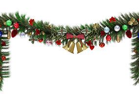 3D model Christmas Garland