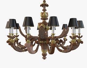 Chelini Art1159 Rovereoro lamp 3D model