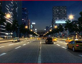 3D Modern City Animated 049
